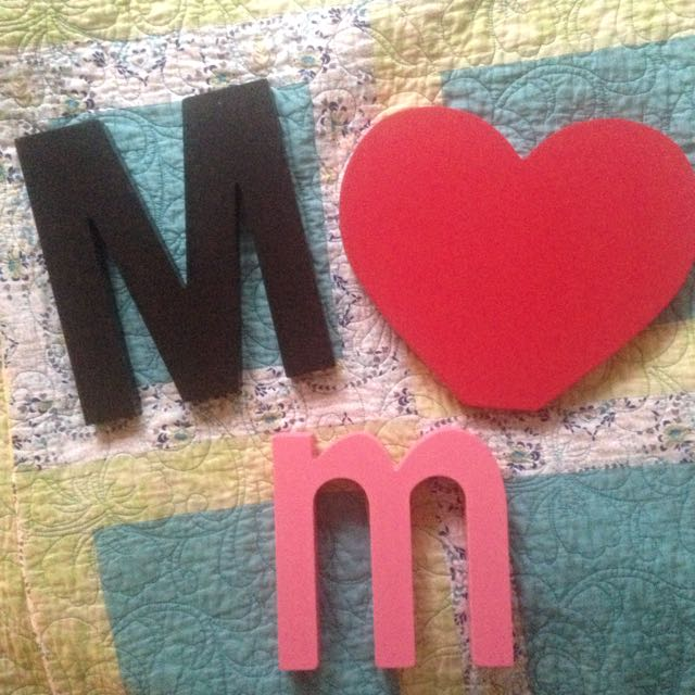 Wooden Letters/synbols