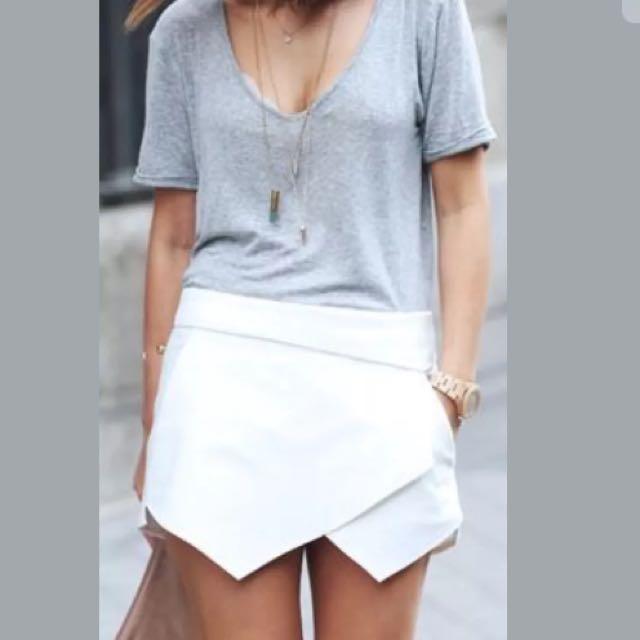 Zara Mini Skort Size Xa
