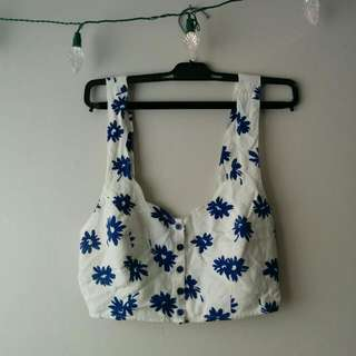 Urban Outfitters Kimchi Blue Crop Top