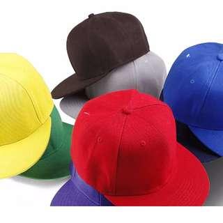 十色-可調式素面棒球帽