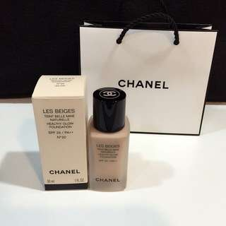 ‼️限時1天 Chanel時尚裸光水慕絲粉底