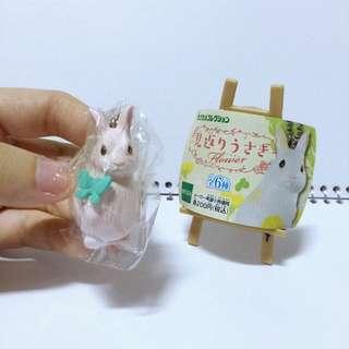🌸兔子扭蛋 回眸兔 粉紅兔