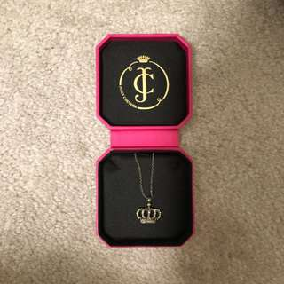 Juicy Couture Crown Necklace