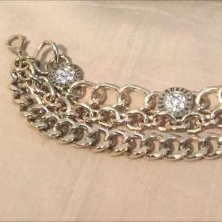 100% Authentic Guess Gold Chain Bracelet