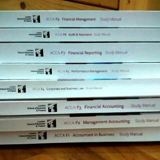 ACCA Books LSBF & FTMS Clearance!