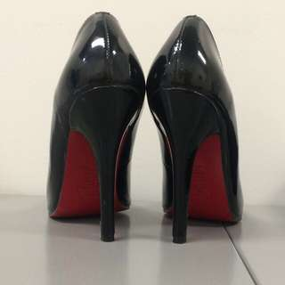 Classic Patent Black Leather Christian Louboutins