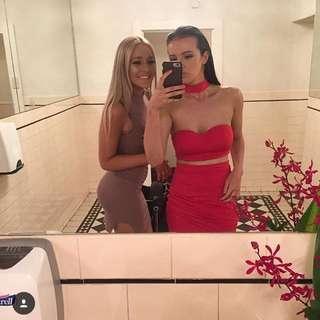 Red Tigermist Dress