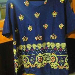 T-Shirt/Tunic Motif etnik