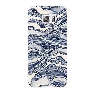 〈 予定販売 〉028 - 藍色海浪「 三星 SAMSUNG Original 手機殼」