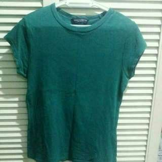 Dorothy Perkins Green Basic Tee.   #MidYearSale