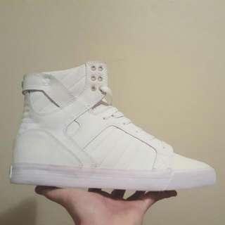 Supra Muska 001 Skytop White/White