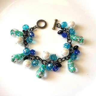 chunky bracelet - handmade