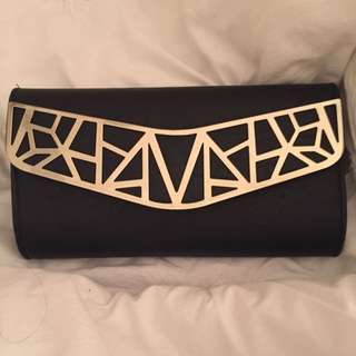 Black And Gold Purse