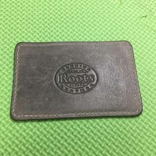 Roots票卡夾