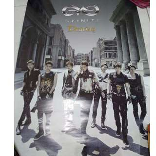 Poster Infinite All Member Destiny