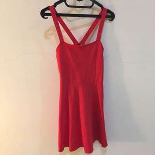 H&M Divided - Red Dress