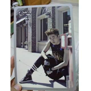 Photo Card Original Hoya Infinite (Album Destiny)