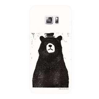 〈 予定販売 〉044 - 來bear咖啡吧「 三星 SAMSUNG Original 手機殼」