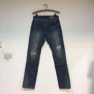 Levi's 511破壞褲