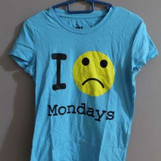 I Sad Monday's Tshirt