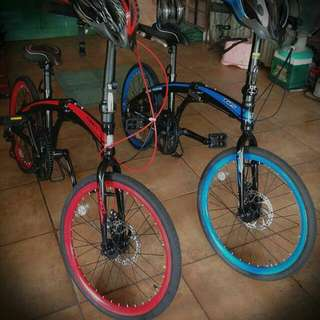 TRS and TIGER Foldable Bike