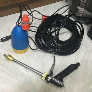 洗車用 潛水泵 連噴水槍