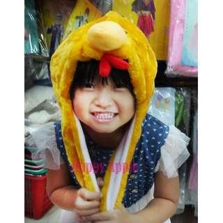 **Happy Apple**萬聖節.聖誕節.派對表演服裝舞蹈用品獅子帽/豹帽/熊貓帽/猴子帽/公雞帽~動物帽 小雞帽