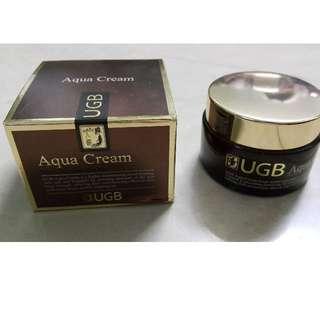全新 UGB Aqua Cream 美白水份面霜 (50g)