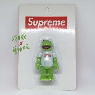 🚫Kubrick Supreme X Kermit frog 芝麻街 稀有 絕版 潮牌 公仔 玩偶 呱