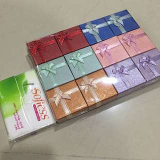 New! Small Square Ribbon Giftbox x 12pcs