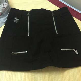 Major Made Mjr 雙拉鍊褲裙
