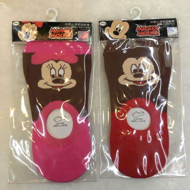 迪士尼矽膠隱形襪