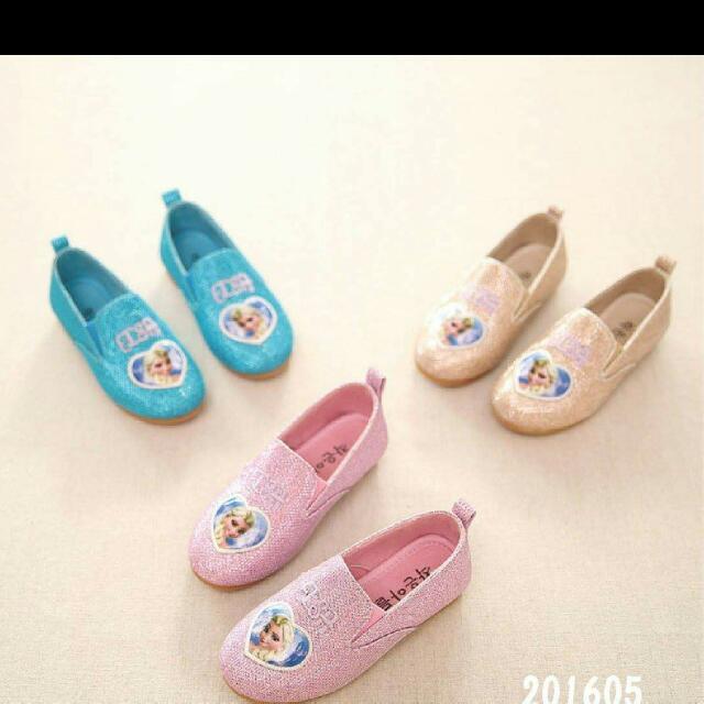 粉色女童鞋