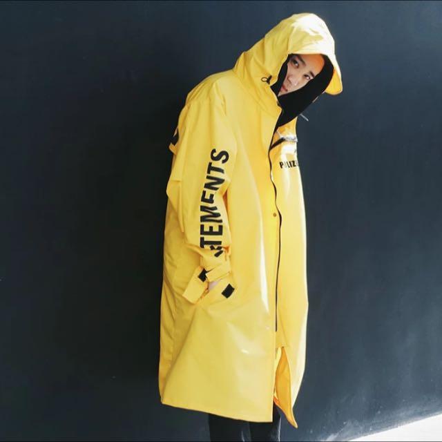 高性能oversize防風外套