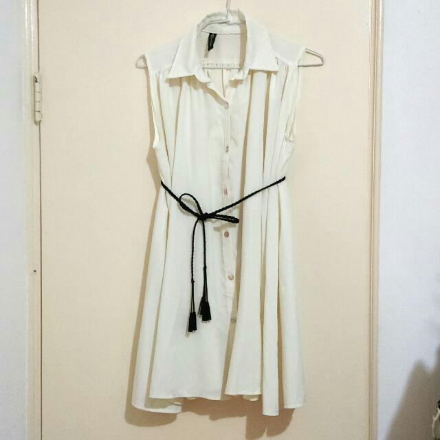 貝殼釦 長襯衫/洋裝