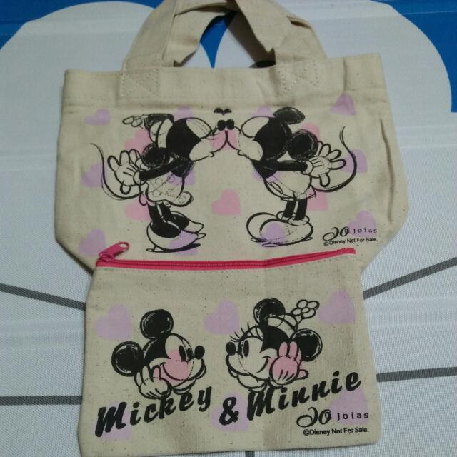 迪士尼 小提袋