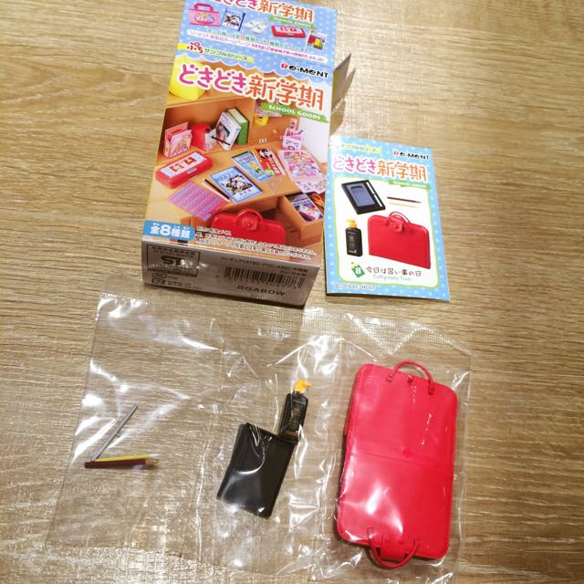 🌸日本 盒玩 Re-ment 新學期 校園 書法