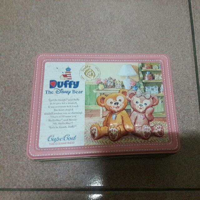 達菲熊 Duffy 鐵盒