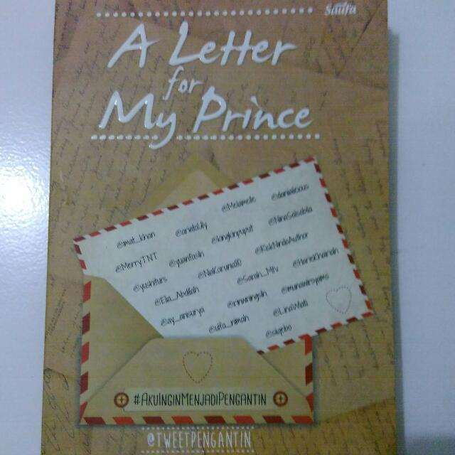 A Letter For My Prince