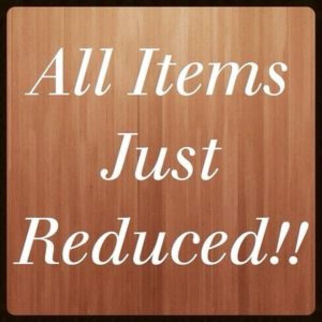 All Remaining Items Reduced For Quick Sale!