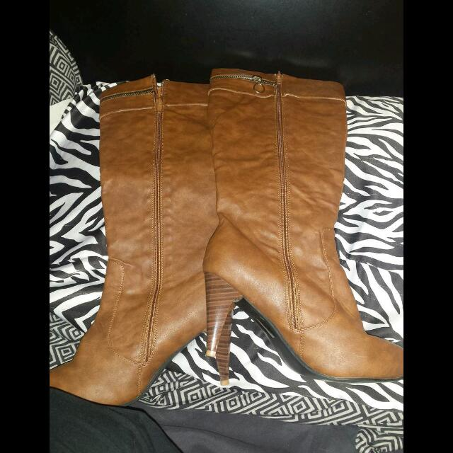 BROWN BOOTS FROM STEPPS