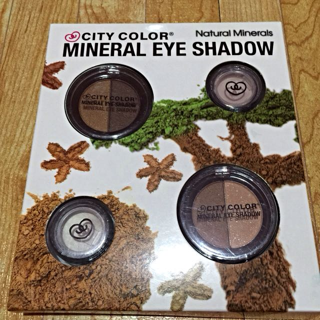 City Colors Mineral Eye Shadow