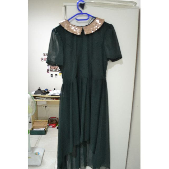 DRESS green for party/prom/date