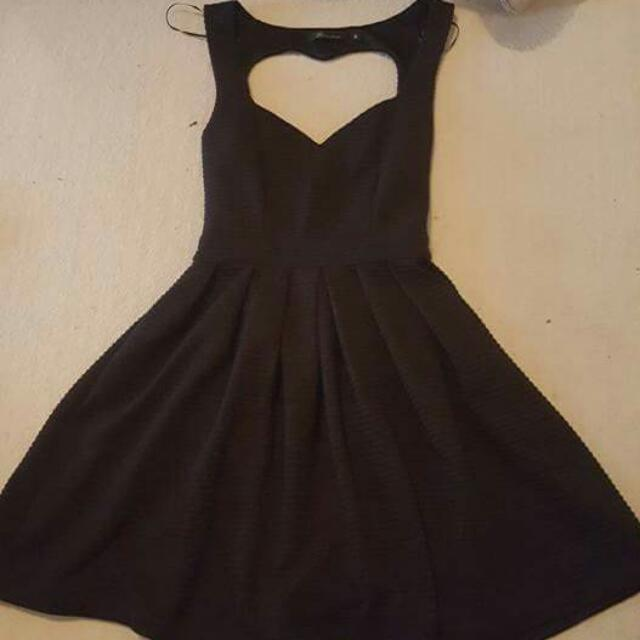 Dress With Heart Cut Out