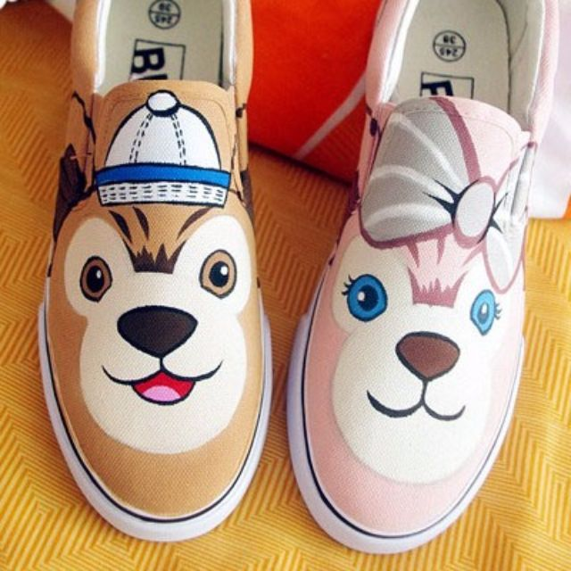 Duffy Hand painted shoes