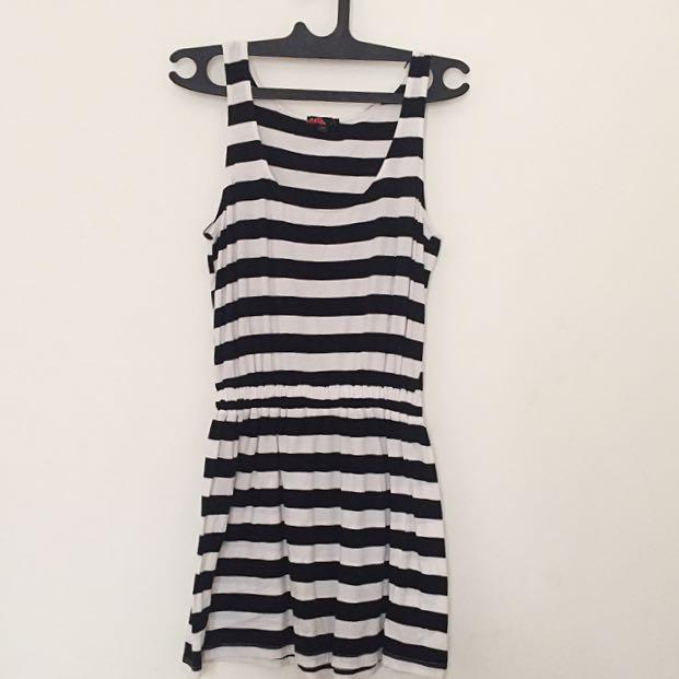 F21 Mini Dress in Stripes