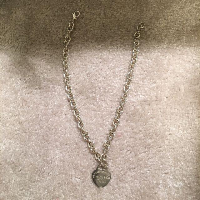 Fake Tiffany Necklace