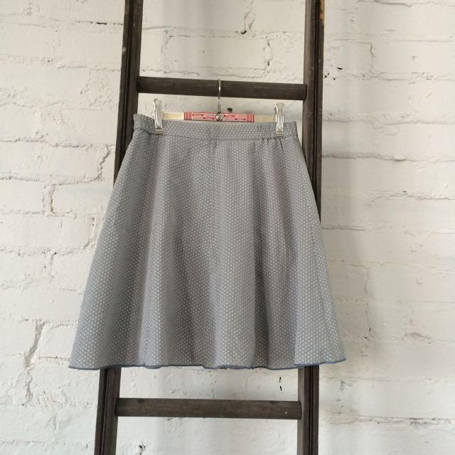 Grey Vintage Skirt