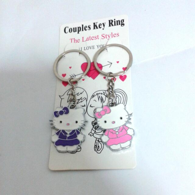 d9cd9c998 Hello Kitty Couple Key Chains, Everything Else on Carousell
