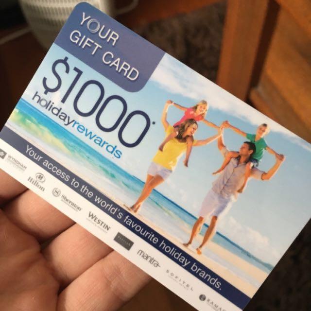 Holiday Rewards Card